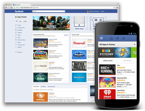 Facebook : l'App Center ouvre ses portes avec déjà 600 applications | Marketing & Réseaux sociaux | Scoop.it