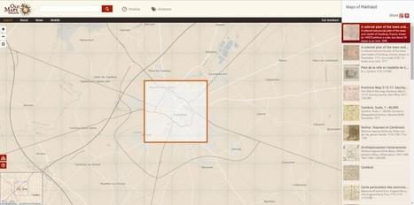 Une carte interactive permettant de visualiser des cartes anciennes | Veille cartographique 2.0 | Carte interactive | Scoop.it