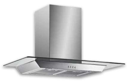 Buy Venini 90cm Slimline Glass Canopy geh9010G at $412.50 Online   Kitchen Benchtops   Scoop.it