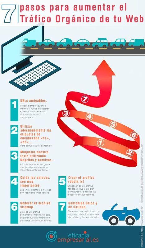 Las 7 claves para aumentar el tráfico orgánico de una web (infografía) | E-Learning, M-Learning | Scoop.it