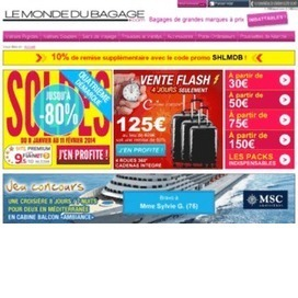 Réductions Le Monde du Bagage : tous les codes promo, bons plans | bon reduc | Scoop.it