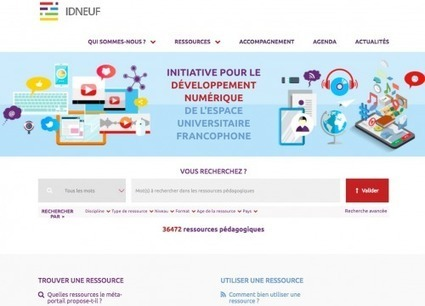 Un méta-portail des ressources pédagogiques universitaires francophones en Open Access - Innovation Pédagogique | Veille, Bibliothèques & Documentation | Scoop.it