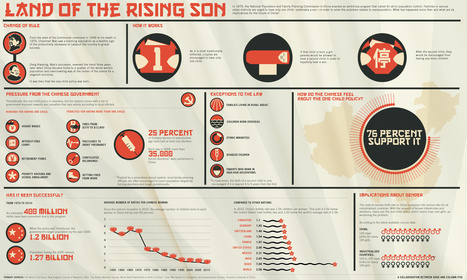 China's One Child Policy: Infographic | People and Development | Scoop.it