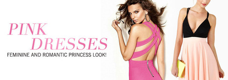 Pink Dresses | Hot A Fashion | Scoop.it