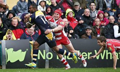 Ryan Lamb landed a late penalty as relegated Worcester edged out Gloucester | busness | Scoop.it
