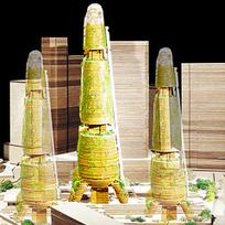 Vertical Farm Concept Wins Pomeroy Studio's Award - Dexigner | Cityfarming, Vertical Farming | Scoop.it