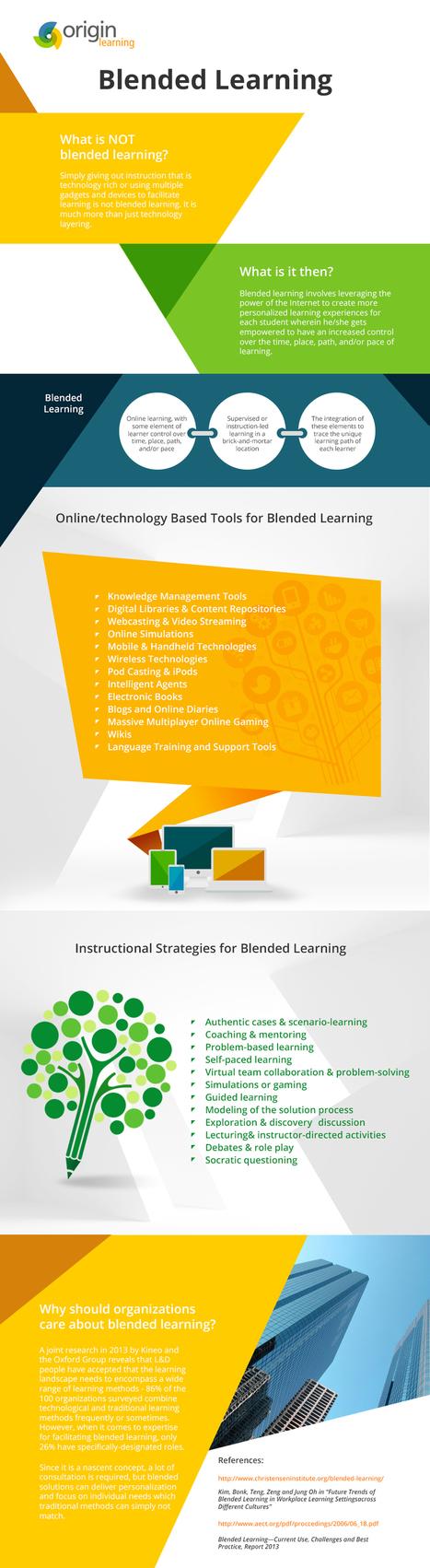 The Mystery of Blended Learning Infographic | Zentrum für multimediales Lehren und Lernen (LLZ) | Scoop.it
