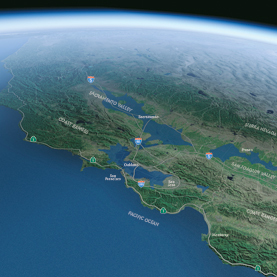 Megastorms Could Drown Massive Portions of California: Scientific American | Eclectic Mix | Scoop.it