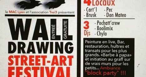 Wall Drawing | Le Mac LYON dans la presse | Scoop.it