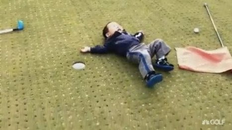 VIDEO: Kid flips out after missing short putt | Golf On The Web | Scoop.it