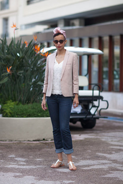 Seaside Chic: Street Style at Cannes 2013 | Street Style | Scoop.it