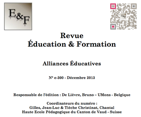 Education & Formation : Parutions | Revue Education & Formation | Scoop.it