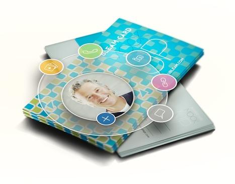 BleamCard - The first augmented reality card | Tendances Communication - Réalité augmentée - Objets communicants | Scoop.it