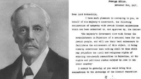Balfour Declaration decision deplored | Grade 11 | Scoop.it