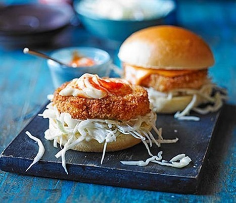 Prawn katsu burgers Recipe, Top Recipes, Traditional Recipe Ebook, recipe review | Healthy Recipes | Scoop.it