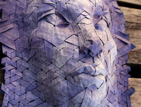 New #Tessellated #Origami #Masks by Joel Cooper. #art | Luby Art | Scoop.it