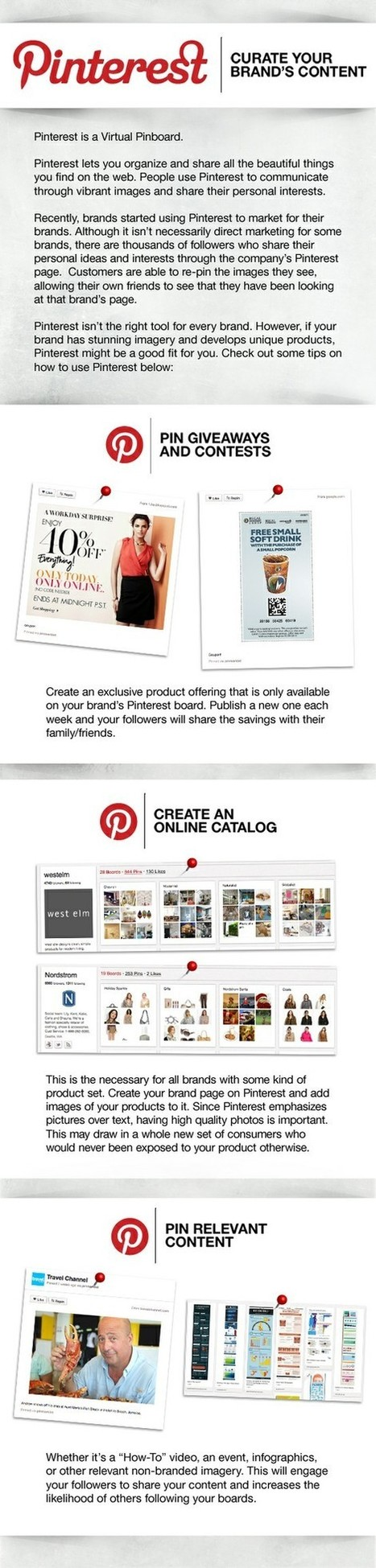 Curate your Brand's Content with Pinterest [Infographic] | Amazing Infographs | Scoop.it
