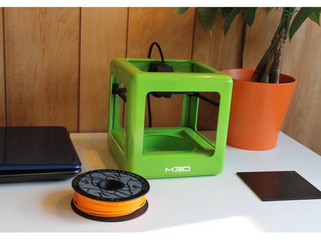 The Micro, une mini imprimante 3D pour la maison | Fredzone | Impression 3D, Hacker Spaces, FabLab & Co. | Scoop.it