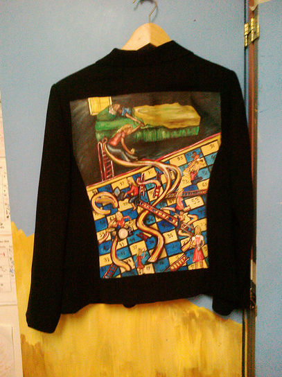 Linda Stotsky's Jacket in #thewalkinggallery #117 | EMRAnswers #HITSM | Scoop.it