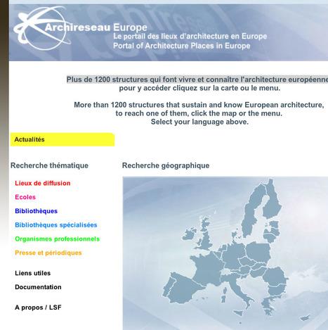 Accueil - Archireseau Europe   Base de données de données   Scoop.it