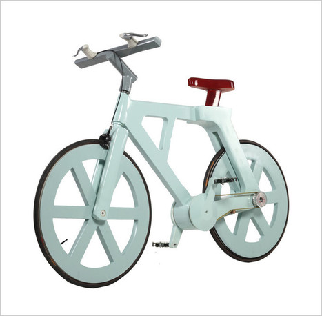 Un vélo en carton pour 7 euros | Ca m'interpelle... | Scoop.it