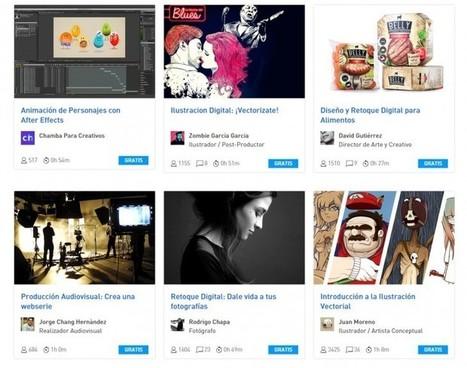 Cursos online gratuitos de Diseño, Fotografía, Ilustración y Audiovisual | Maquetación de libros y diseño personalizado de portada | Scoop.it