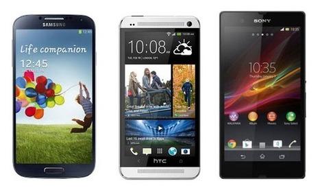 Samsung Galaxy S IV vs Sony Xperia Z vs HTC One; Spec Comparison | WorldGeek | Scoop.it