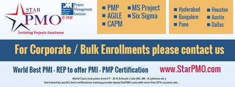 PMI PMP Certification   PMI ACP Agile Certification   Agile Certification   PMI Agile   PMI ACP   PMI PMP @ StarPMO.com   sap training in hyderabad   Scoop.it