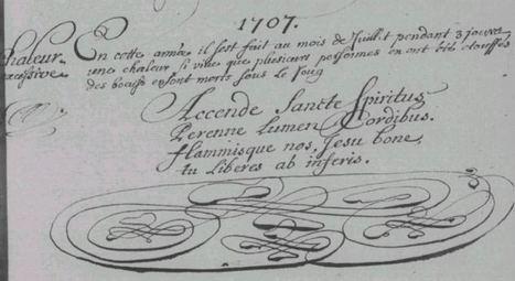 Canicule et sécheresse dans le Maine, début XVIIIe siècle | Yvon Généalogie | GenealoNet | Scoop.it