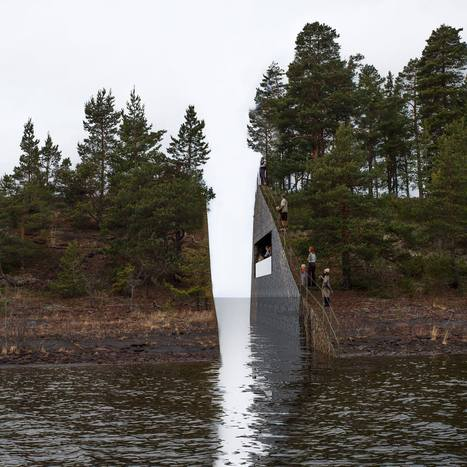 Jonas Dahlberg : July 22 Memorial site | Art Installations, Sculpture | Scoop.it