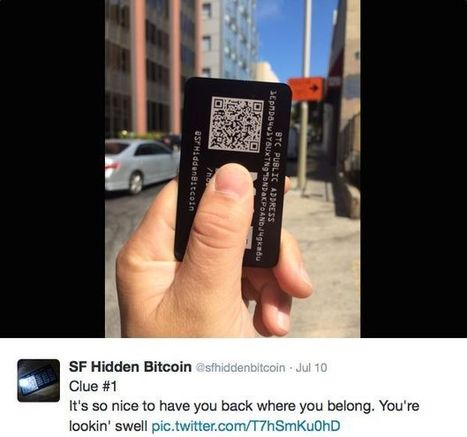 Cryptic Twitter account sparks hunt for hidden Bitcoin   Cult of Mac   Digital Constructionism   Scoop.it