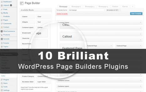 10 Brilliant Wordpress Drag and Drop Page Builder Plugins | wpfreeware | Scoop.it