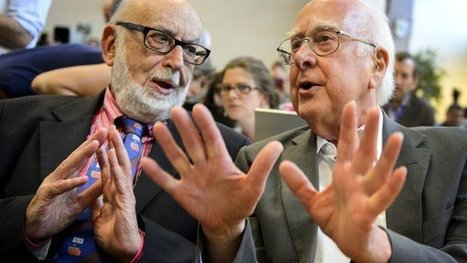 Higgs and Englert Are Awarded Nobel Prize in Physics | Journalism | Scoop.it