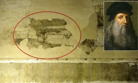 Peeling back the years: Lost da Vinci mural discovered beneath layers of paint in Italian castle | Italia Mia | Scoop.it