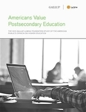 Americans Value Postsecondary Education | Gallup poll | AcademicTraining | Scoop.it