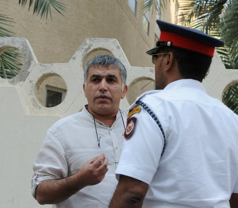 Nabeel Rajab President of Bahrain Center for Human Rights was beaten, blindfolded and detained | Bahrain Center for Human Rights | Human Rights and the Will to be free | Scoop.it