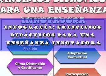 INFOGRAFÍA: PRINCIPIOS DIDÁCTICOS PARA UNA ENSEÑANZA INNOVADORA | Educacion, ecologia y TIC | Scoop.it