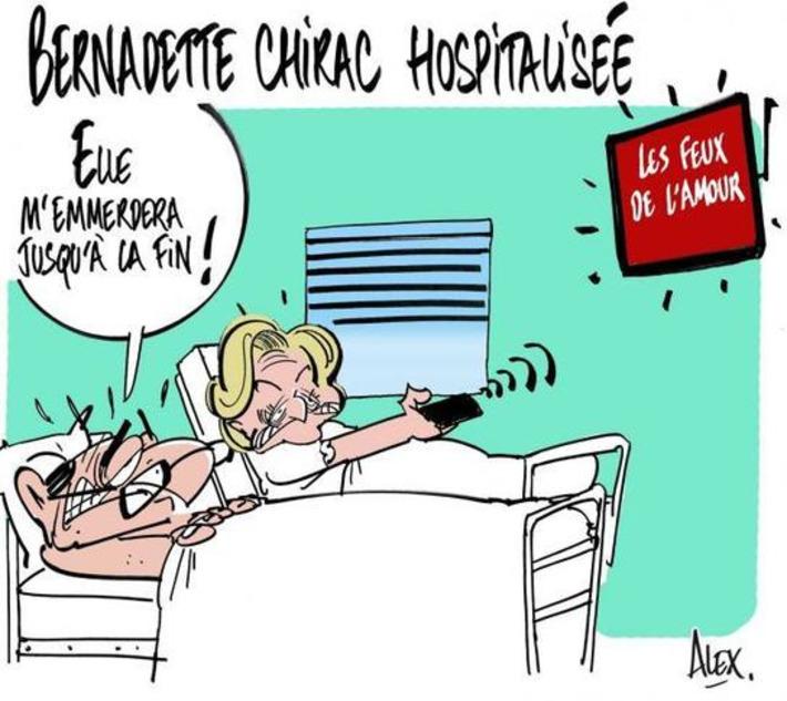 Bernadette Chirac hospitalisée | Baie d'humour | Scoop.it