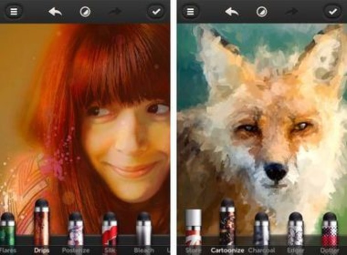 "L'app gratuite iPhone et iPad du jour : Repix - Remix & Paint Photos | Veille Techno et Informatique ""AutreMent"" 