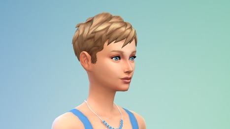 The Sims 4: New Unisex Hairstyles for Females << Sims Community | Les Sims | Scoop.it