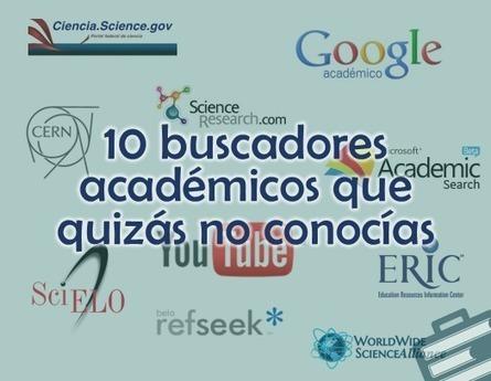 10 buscadores académicos que quizás no conocías | Grupo Educación y Empresa | Herramientas para investigadores | Scoop.it