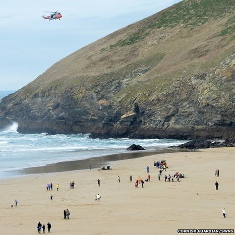 Three people die after getting into difficulty in the sea in Cornwall - BBC News | CLOVER ENTERPRISES ''THE ENTERTAINMENT OF CHOICE'' | Scoop.it