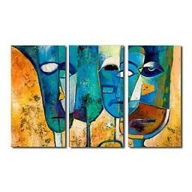 Hand-painted Abstract Oil Painting - Set of 3 - Free Shipping - Oilpainting-shop.com | OilPainting-Shop.com | Scoop.it