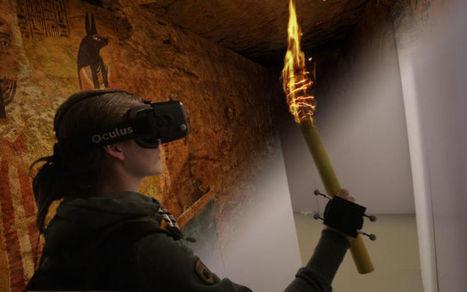 Vidéo : ce dispositif de réalité augmentée fait de vous un Indiana Jones des musées | Cabinet de curiosités numériques | Scoop.it