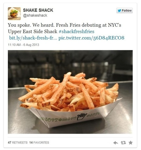 Shake Shack's Social Media Management | Social Media Today | Nerdy and Slashie by Nature | Scoop.it
