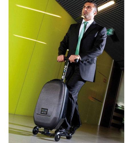Micro Luggage combine valise et trottinette | Actinnovation.com | Innovation & Co | Scoop.it