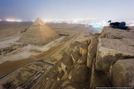 Illegal pyramid photos: Daring art project or crime against Egypt? | Égypt-actus | Scoop.it