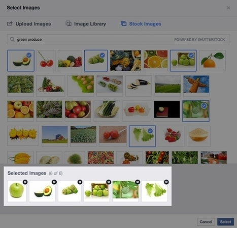Facebook Page Admins Gain Access To Shutterstock Image Library; Ability To Upload Multiple Images; Updated Pages Manager Apps For IOS, Android - AllFacebook | Facebook2 | Scoop.it