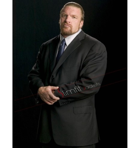 WWE Wrestler Triple H Black Suit | Never Seen Before - Exclusive Collection | Scoop.it