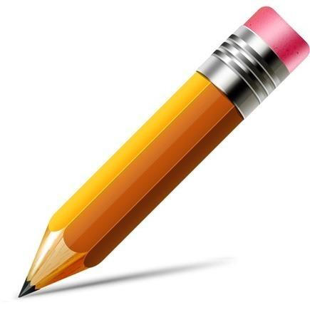 GraphicsFuel.com | Pencil icon (Vector PSD) | photoshop ressources | Scoop.it
